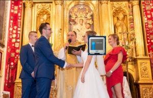 Ślub transmisja na żywo Warszawa