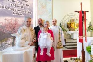 Transmisja chrztu świętego na żywo