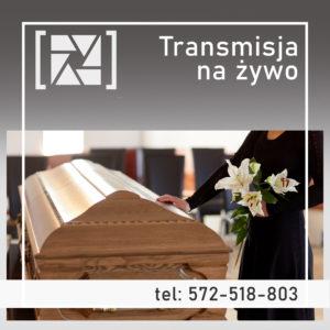 Uroczystości pogrzebowe na żywo